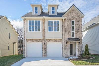 Chattanooga Single Family Home For Sale: 1349 Carrington Way #19