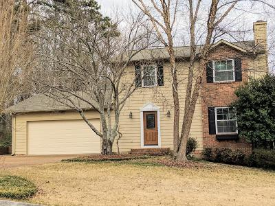 Chattanooga Single Family Home Contingent: 9123 Quail Mountain Dr