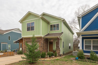 Chattanooga Single Family Home Contingent: 206 Peak St