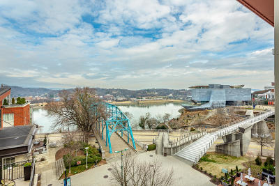 Chattanooga Single Family Home For Sale: 129 Walnut St #Unit 124