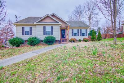 Cleveland Single Family Home Contingent: 208 SE Home Place Ct