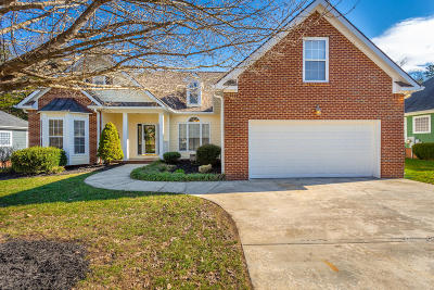 Ooltewah Single Family Home Contingent: 5776 Crooked Creek Dr