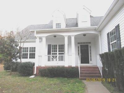Ringgold Single Family Home Contingent: 2107 Baggett Rd