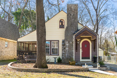 Chattanooga Single Family Home Contingent: 5210 Sunbeam Ave