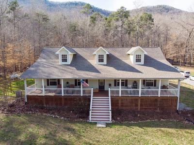 Chickamauga Single Family Home Contingent: 189 Shady Cove Ln