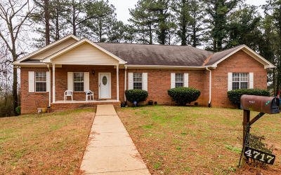 Chattanooga Single Family Home For Sale: 4717 Lake Hills Cir
