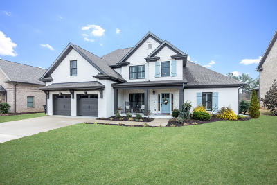 Ooltewah Single Family Home Contingent: 7985 Hampton Cove Dr