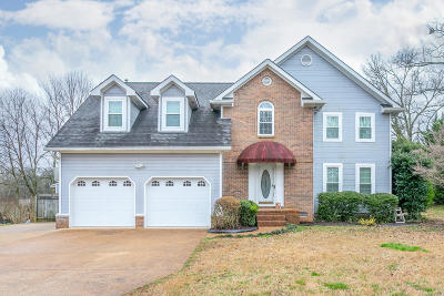 Ooltewah Single Family Home For Sale: 8620 Horseshoe Bend Ln
