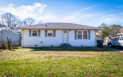 Chattanooga Single Family Home For Sale: 7715 Wimberly Dr