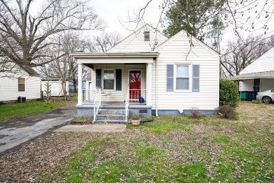 Chattanooga Single Family Home For Sale: 1511 Castleberry Ave