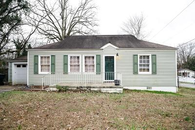 Chattanooga Single Family Home Contingent: 309 Nelson Rd