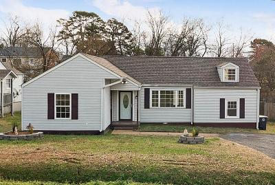 Chattanooga TN Single Family Home For Sale: $149,950