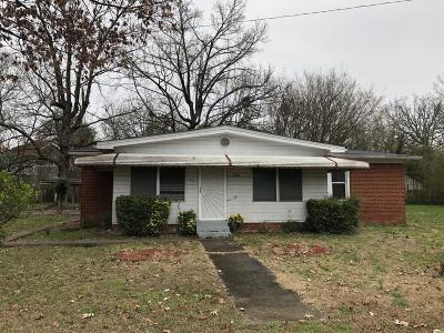 Chattanooga TN Single Family Home For Sale: $69,900