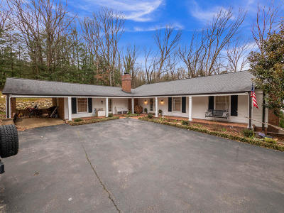 Lookout Mountain Single Family Home For Sale: 1022 Scenic Hwy