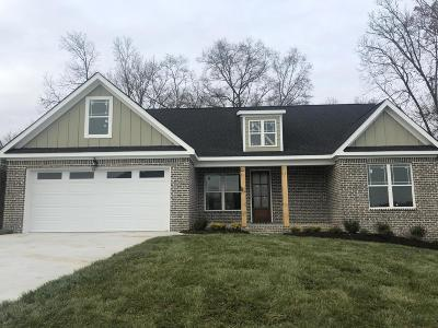Ooltewah Single Family Home Contingent: 5834 Caney Ridge Cir