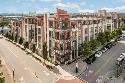 Chattanooga Condo For Sale: 129 Walnut St #127