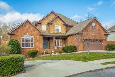 Ooltewah Single Family Home Contingent: 8665 Wandering Way