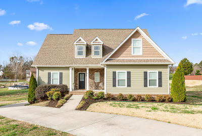 Soddy Daisy Single Family Home Contingent: 9901 Breeze Hill Ln