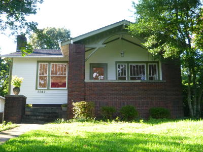 Chattanooga Single Family Home For Sale: 1141 Highland Dr