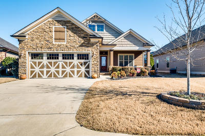 Ooltewah Single Family Home Contingent: 8687 Kennerly Ct