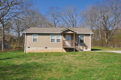 Rossville Single Family Home Contingent: 452 Red Bud Ave
