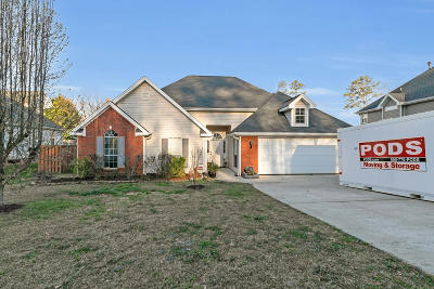 Ooltewah Single Family Home Contingent: 4911 Waverly Ct