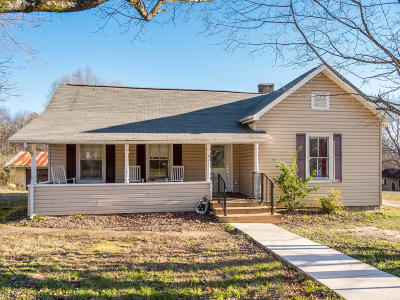 Soddy Daisy Single Family Home Contingent: 335 Hotwater Rd
