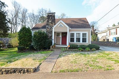 Chattanooga Single Family Home For Sale: 1214 Dugdale St