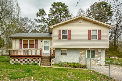 Hixson Single Family Home Contingent: 1607 N Chester Rd