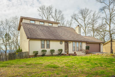 Chattanooga Single Family Home Contingent: 707 Swansons Ridge Rd
