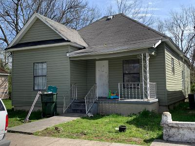 Chattanooga Single Family Home For Sale: 412 N Hawthorne St