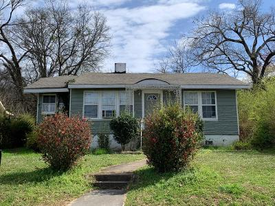Chattanooga Single Family Home Contingent: 1228 Wheeler Ave