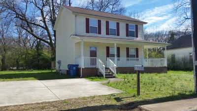 Chattanooga Single Family Home For Sale: 1320 Roanoke Ave