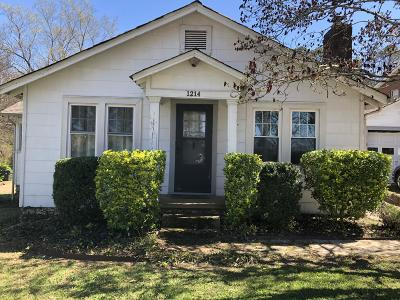 Chattanooga Single Family Home For Sale: 1214 N Concord Rd