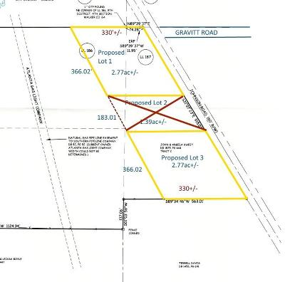 Residential Lots & Land For Sale: Johnson Rd #1 & 3