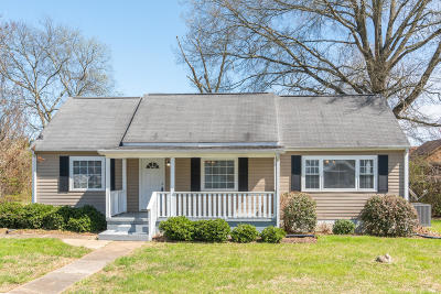 Chattanooga Single Family Home Contingent: 1512 Garner Cir