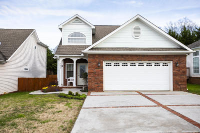 Ooltewah Single Family Home Contingent: 8020 Asher Valley Tr