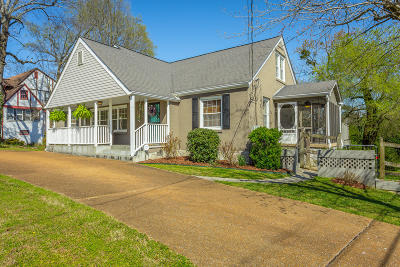 Chattanooga Single Family Home Contingent: 708 Belvoir Ave