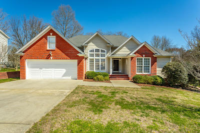 Soddy Daisy Single Family Home Contingent: 8588 Banner Elk Rd