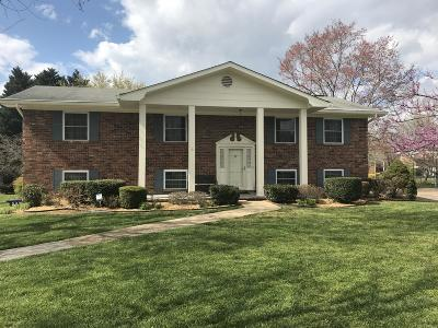 Chattanooga Single Family Home For Sale: 8120 Holly Crest Dr