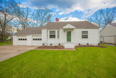 Chattanooga Single Family Home For Sale: 208 Shawnee Tr