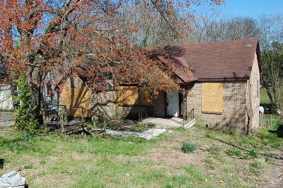Chattanooga Single Family Home For Sale: 616 Gillespie Rd