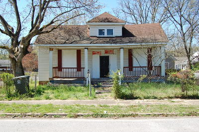 Chattanooga Single Family Home For Sale: 1815 S Beech St