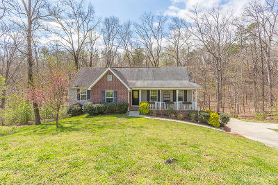 Soddy Daisy Single Family Home Contingent: 11400 Clipper Bay Dr