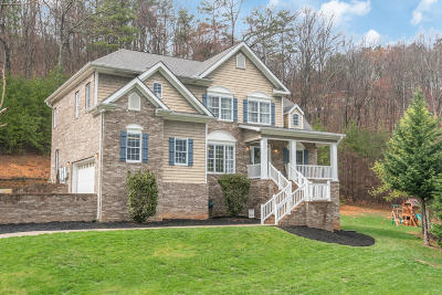 Soddy Daisy Single Family Home Contingent: 8917 Terrace Falls Dr