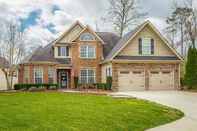 Ooltewah Single Family Home Contingent: 8378 Lexie Ln