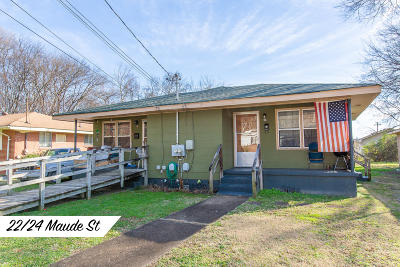 Chattanooga Multi Family Home For Sale: 22 Maude St
