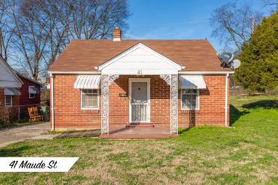 Chattanooga Single Family Home For Sale: 41 Maude St