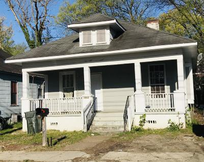 Chattanooga Single Family Home For Sale: 1513 S Hawthorne St