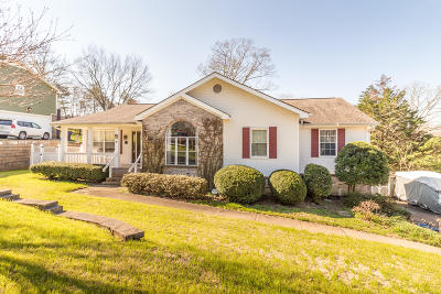 Ooltewah Single Family Home Contingent: 7206 Ridgestone Dr